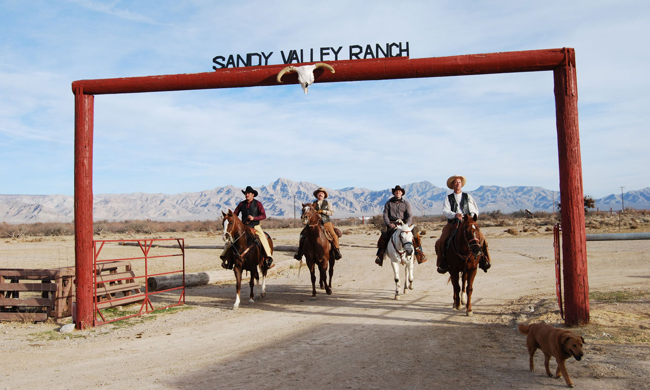 Las Vegas horseback trail rides