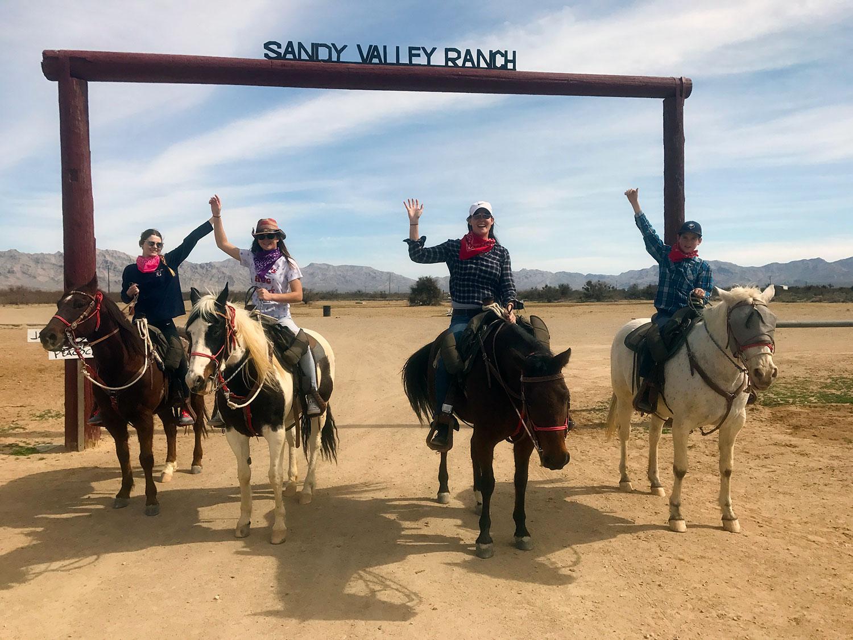horseback trail rides near las vegas